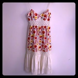 Sue Wong embroidered dress size 2
